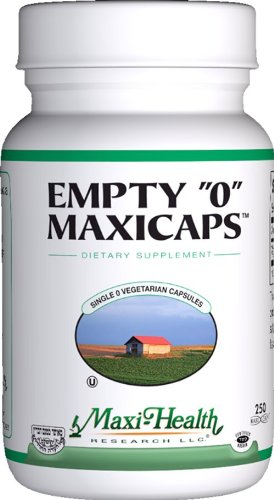 Health Empty Maxicaps Vegetarian Capsules product image