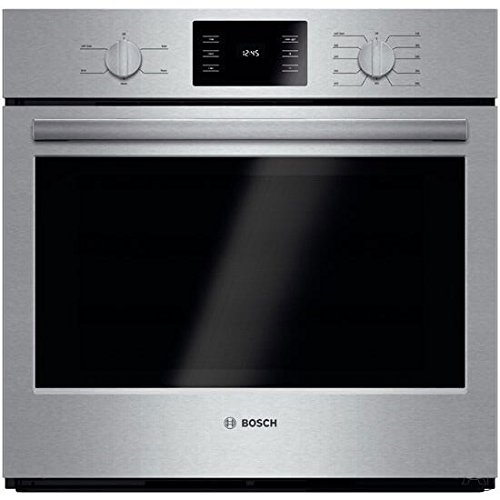 Bosch HBL5351UC 500 30″ Stainless Steel Electric Single Wall Oven