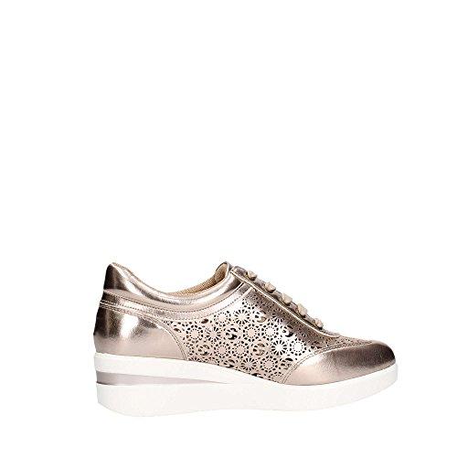 Ecopelle Primavera Estate Oro Platino Gattinoni Rosa Roma Sneaker zqxwBW1ES