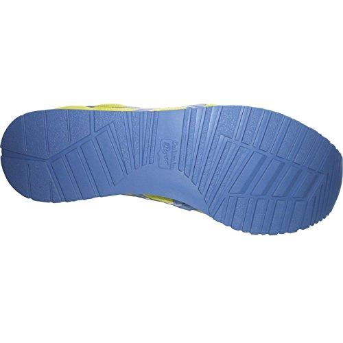 Asics Curreo - Zapatillas deportivas para hombre Lima / Azul / Rojo