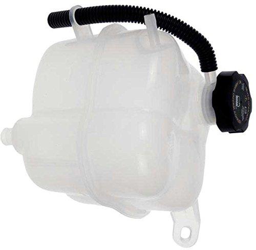 APDTY 714349 Radiator Coolant Surge Tank Reservoir Fluid Overflow Plastic Recovery Bottle Housing w/Cap & Low Coolant Level Sensor Fits 2002-2007 Saturn VUE (Replaces 10381902)