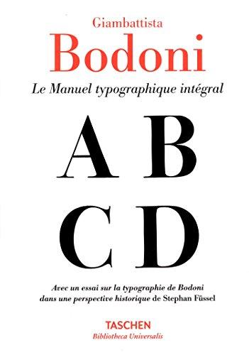 Manuel typographique (Bibliotheca Universalis) (French Edition)