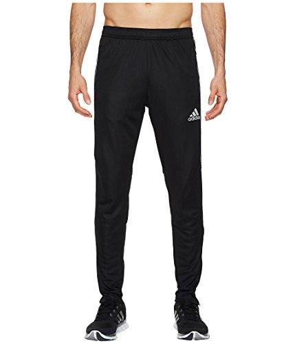 adidas Mens Tiro17 TRG Pant, Black/Silver, Large