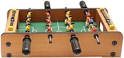 BZLLW Tabla de fútbol clásico, Cubierta multijugador de fútbol Juego de fútbol, Juegos for Niños de la Familia Habitaciones Diversión: Amazon.es: Deportes y aire libre