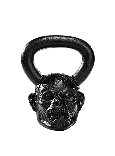 Onnit 18lb Zombie Kettlebell | Exquisite Detail with Enlarged Handles for Enhanced Grip Strength