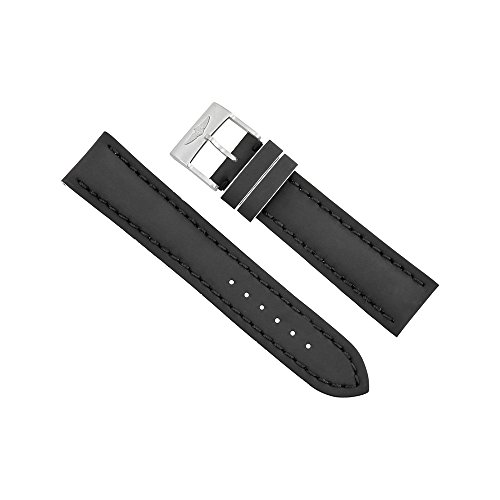 Breitling-Black-Leather-Strap-22mm-20mm-226X-A20BASA1