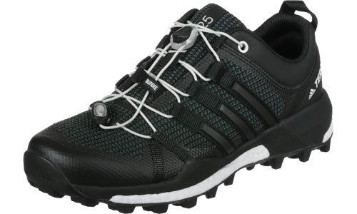 adidas Terrex Skychaser, Zapatillas de Running para Asfalto para Hombre Gris (Dark Grey/core Black/footwear White)