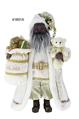 Santa Figurines Black (Windy Hill Collection 16