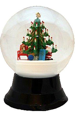 Alexander Taron Importer PR1759 Perzy Decorative Snowglobe with Large Christmas Tree, 7'' x 4.75'' x 4.75'' by Alexander Taron Importer