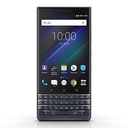 BlackBerry KEY2 LE GSM Unlocked Android Smartphone, 64GB, 13MP Rear Dual Camera, Android 8.1 Oreo (U.S. Warranty) - Slate (Phones Blackberries)