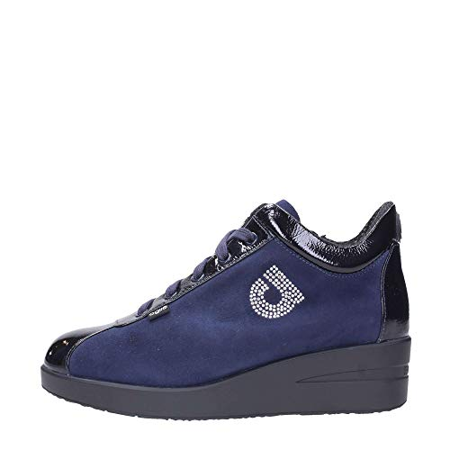 Rucoline 39 226 N° Suede 1 Zeppa Navy Top Scarpe Donna By Luxor Agile Sng1471