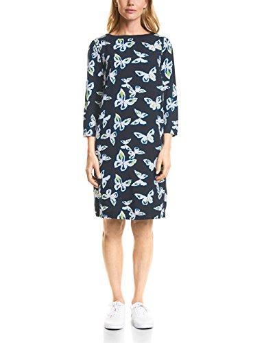 Damen Kleid Blau Blue Cecil 30128 Deep FAqv5wd