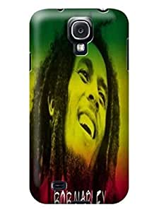 Cool Bob Marley fashionable Series Lightweight Waterproof TPU Protection Case for Samsung Galaxy s4