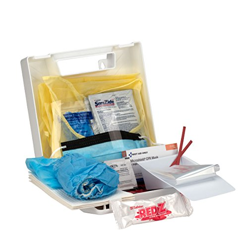 First Aid Only Blood Borne Pathogen/Personal Protection Kit with Microshield