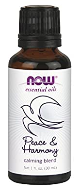 NOW Peace and Harmony Essential Oil Blend, 1-Ounce by NOW Foods