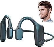LVOD Fone de ouvido com fone de ouvido de condução óssea Touch Fone de ouvido Bluetooth Fone de ouvido sem fio
