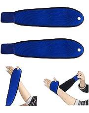 Ltsbaed Verstelbare polsbrace ademend voor links of rechts pols ondersteuning riem pols wrap strap ondersteuning brace one size voor fitness Bench Press gewichtheffen sport bescherming 2 stuks