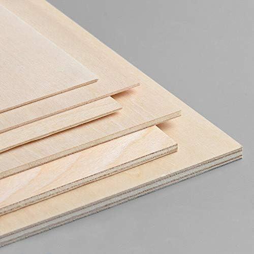 L/áser Pintura Pirograbado Decoraci/ón 1189x841 mm Tableros de Madera Contrachapado Chopo blanco de 5MM de Grosor CNC 2uds A0 Manualidades