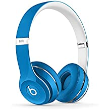 Beats Solo2 On-Ear Headphone Luxe Edition (WIRED, Not Wireless) (Refurbished) - Blue