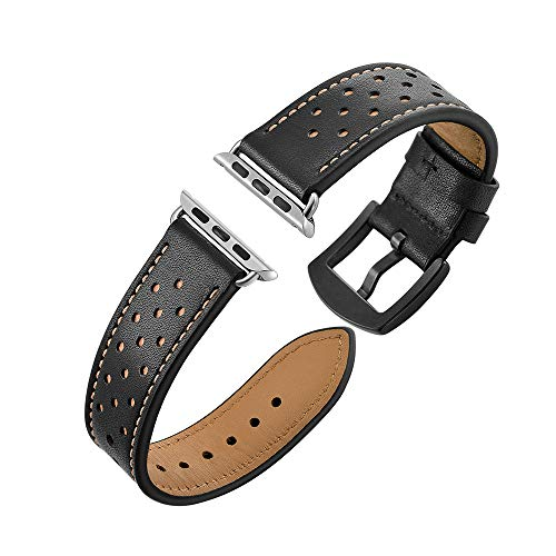 Accessory for Apple Watch Series 4 Halloween Hot Sale!!Kacowpper Leather Watch Band Replacement Wrist Straps Bracelet for Apple Watch 42MM 44MM/38MM 40MM