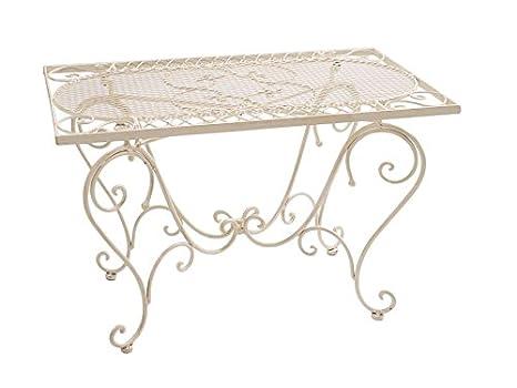 Tavolo da giardino in ferro battuto Nostalgia 12 kg stile antico ...