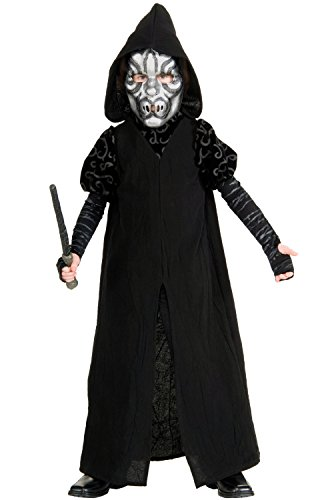 Harry Potter Deluxe Child's Death Eater Costume, ()