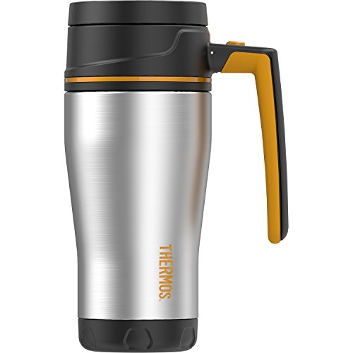 Stainless Steel Travel Mug Nissan - Thermos ELEMENT5 16 Ounce Double Wall Travel Mug, Stainless Steel