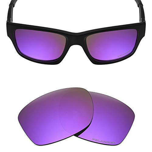 (Mryok+ Polarized Replacement Lenses for Oakley Jupiter Squared/Jupiter Carbon - Plasma Purple)