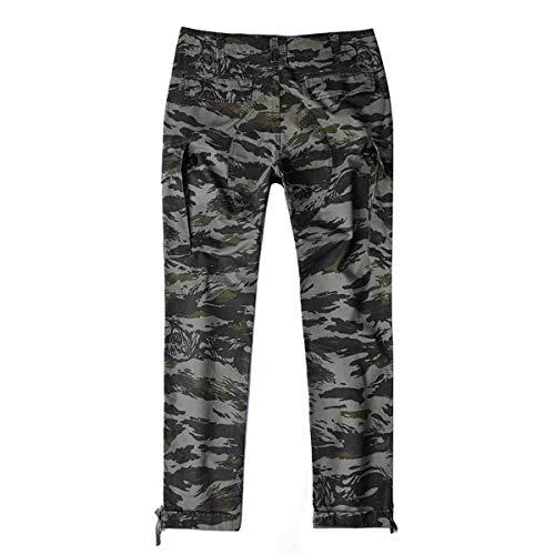 Sportivi Jogging Multiple Camouflage Pantaloni Casual Cargo Tasche Lavoro Primavera Autunno 88 Bobo Uomo Da Hellgrün TfRwZWxq