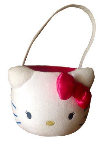 Hello Kitty Plush Basket -