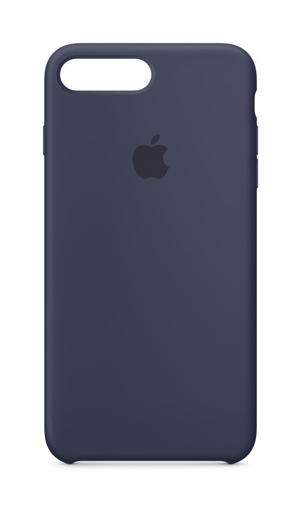 Apple Silicone Case (for iPhone 8 Plus / iPhone 7 Plus) - Black - MQGW2ZM/A
