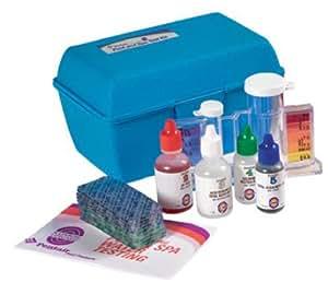 Pentair r151190 77dpd 4 n 1 chlorine bromine dpd test kit swimming pool liquid for Swimming pool test kits amazon