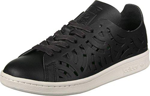 adidas Stan Smith Cutout W, Zapatillas de Deporte para Mujer Negro (Negbas/Negbas/Casbla)