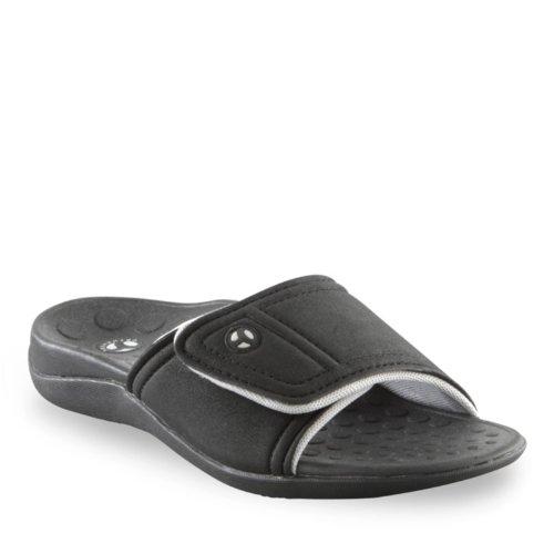 Sandalo Slide Unisex Kiwi Unisex Nero / Grigio