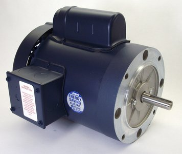 3/4 hp 1725 RPM 56C Frame TEFC C-Face (no base) 115/208-230 Volts Leeson Electric Motor # 110057