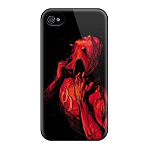 Excellent Iphone 4/4s Case Tpu Cover Back Skin Protector Daredevil I4