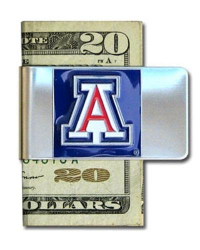 NCAA Arizona Wildcats Steel Money Clip