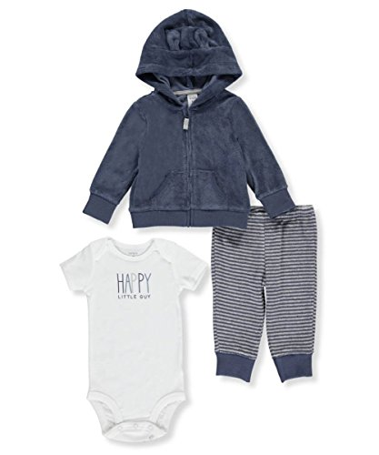 (Carter's Baby Boys' 3 Piece Happy Guy Set 6 Months)