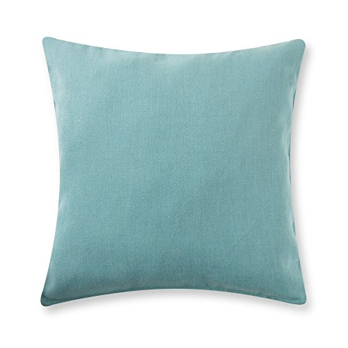 baibu Solid Throw Pillow Cover (12 Colors and 6 Sizes) Decor Cushion Cover for Sofa Light Green 22x22