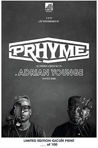 Lost Posters Rare Poster dj Premier PRHYME Royce da 5'9