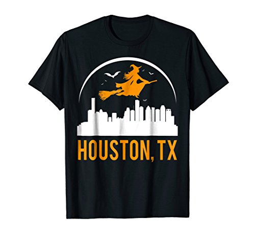 Witch Of TX Capital Houston Cool Funny T-shirt -