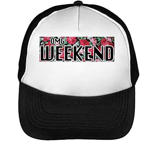Dope Gorras Blanco Weekend Slogan Hombre Beisbol Snapback Omg Negro TfzWnP44