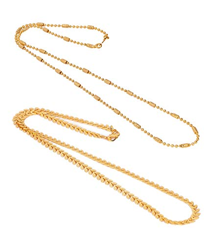 AanyaCentric Brass Necklace for Women's