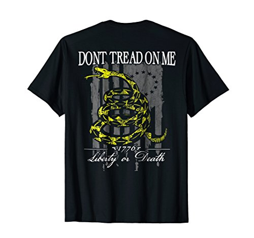 Patriotic Gadsden Liberty Or Death American Flag Shirt Sleeve Pilot Shirt
