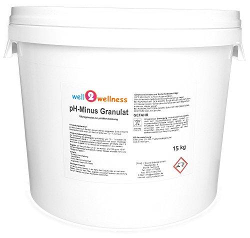 well2wellness pH Minus Granulat/pH Senker Granulat 15 kg