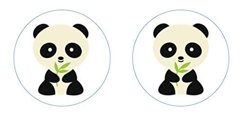 Little Pandas Edible Cupcake Toppers Decoration