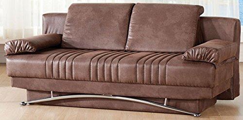Fantasy Sofa Sleeper in Chocolate