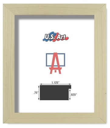 Amazon.com - US Art Frames 12x16 Natural Unfinished 1.25 inch ...