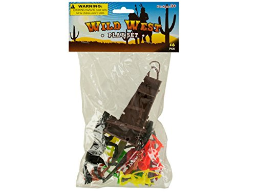 Wild West Play Set - Pack of 48