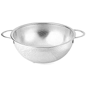 Sanming Stainless Steel Wash Basket Colanders with Two Handle (12.4 inch (31.5cm))